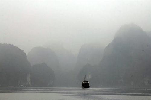 Sương mù - du lịch Hạ Long