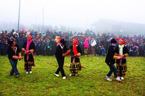 Lễ hội đón tết của người dân tộc Dao