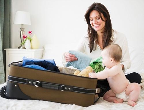 Sắp xếp hành lý du lịch