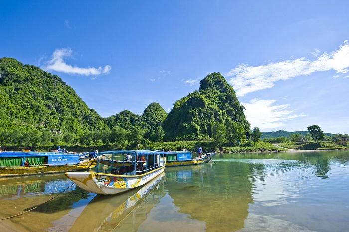Một góc trời biển Quảng Bình