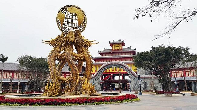 Công viên Dragon khu vui chơi giải trí